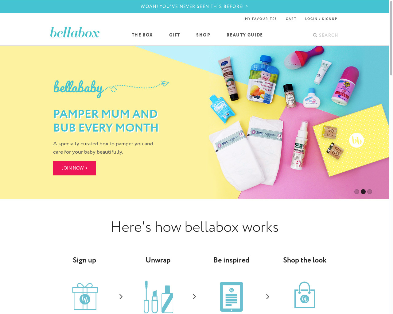 Bellabox beauty shop