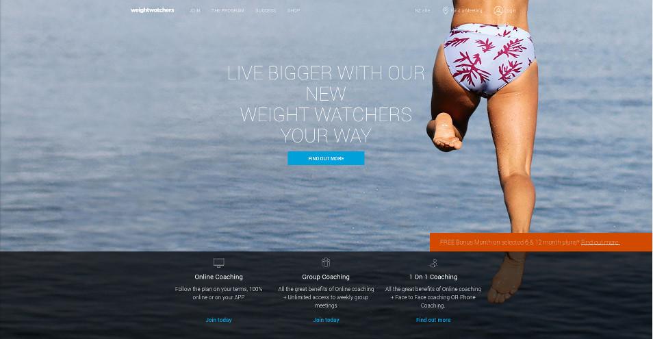 Weight Watchers Screenshot