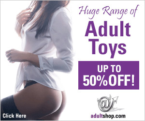 AdultShop Adult Toys Banner