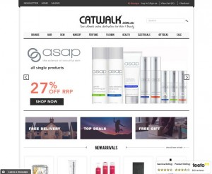 Screenshot of Catwalk.com.au