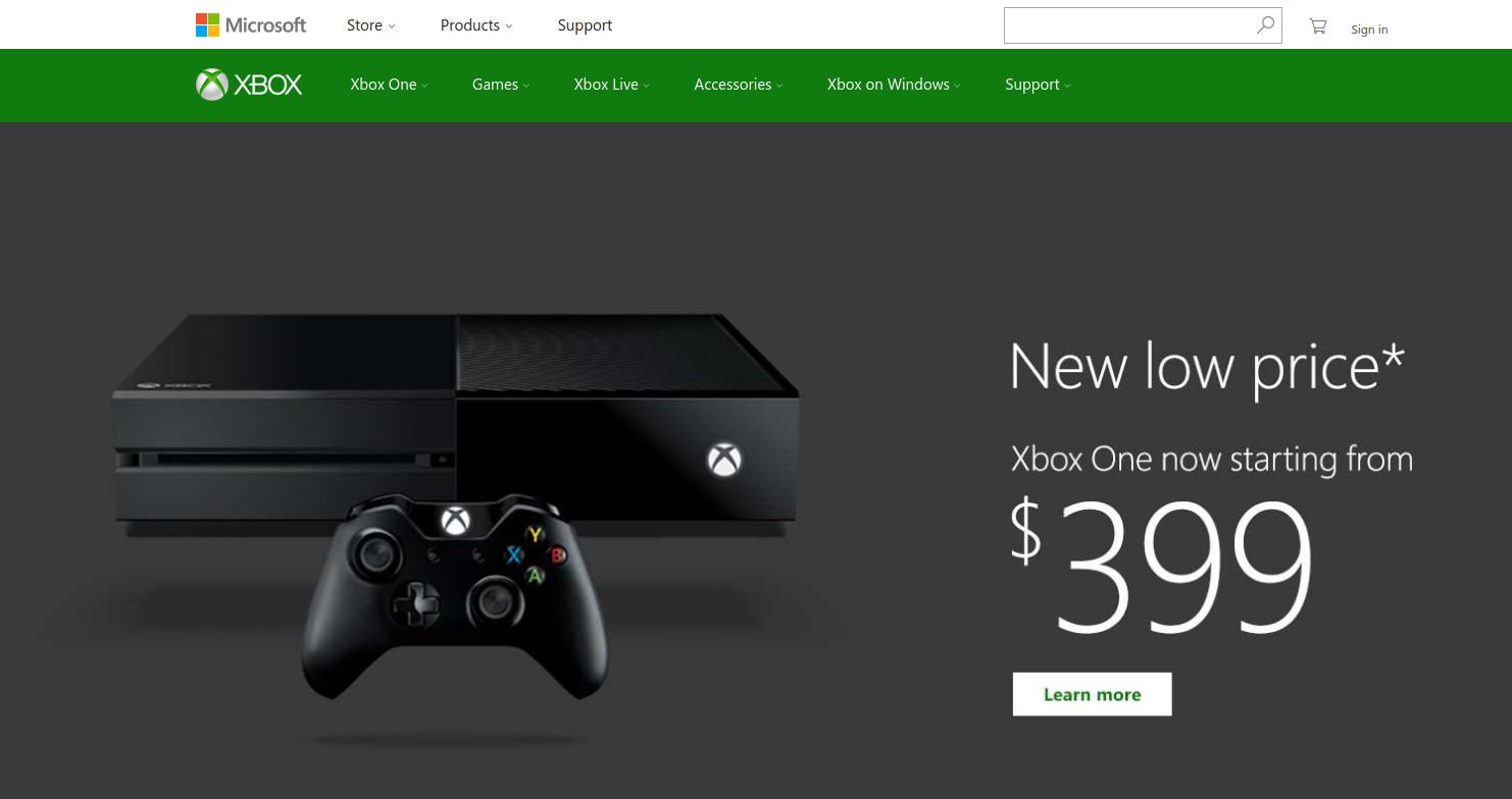 Microsoft Xbox Screenshot
