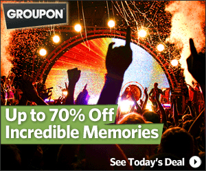 Groupon event deals