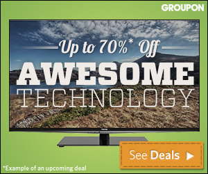 Groupon shopping deals