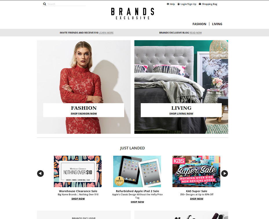 Brands Exclusive AU promo code